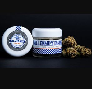 B. Ball Family Farms 3.5g Flower - Quality 9.5/10 - Laura Charles (~28%)