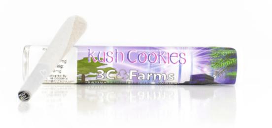 3C FARMS - 1G PREROLL - KUSH COOKIES