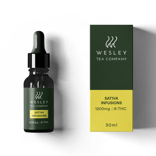 1200mg THC Sativa Infusion by Wesley Tea
