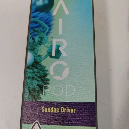 Airo Pro | Sundae Driver - Live Resin Series | Indica | Cartridge | .5g | 71.03% THC