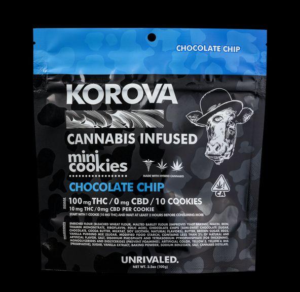 Chocolate Chip Mini Cookies - 100mg THC