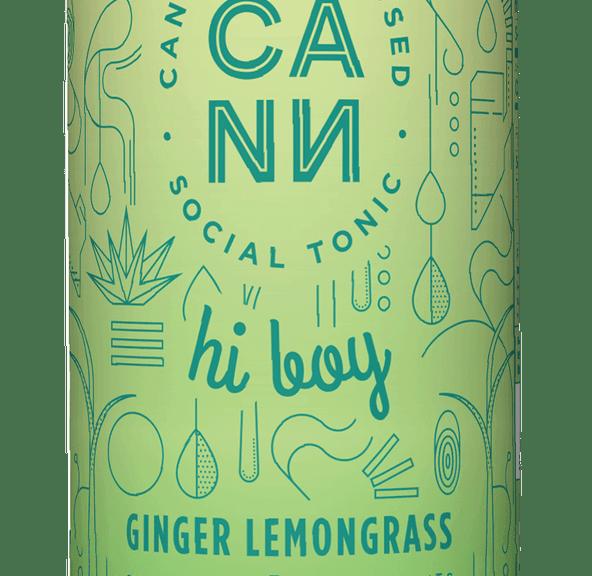 [CANN] THC Drink - 5mg - Ginger Lemongrass Hi Boy