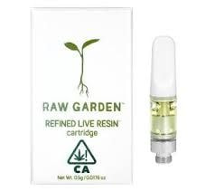 Raw Garden Cartridge 0.5g Sativa Pomelo Jello