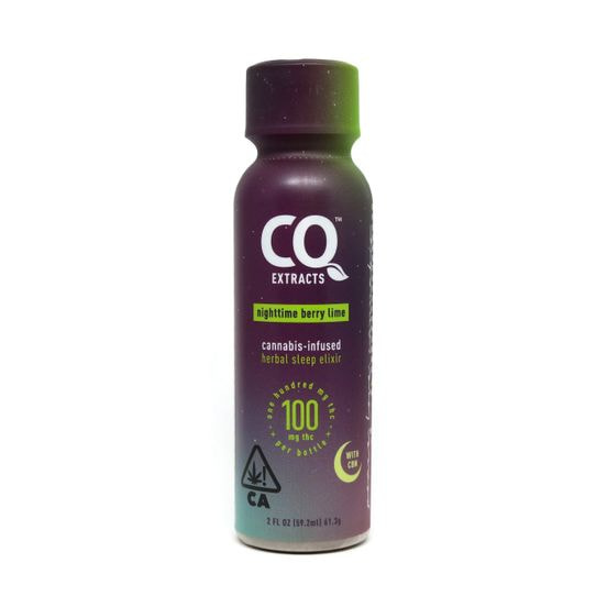 Berry Lime with CBN Quencher SHOT 100mg THC INDICA