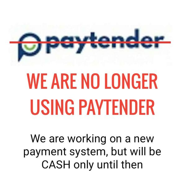0. CASH ONLY UNTIL FURTHER NOTICE