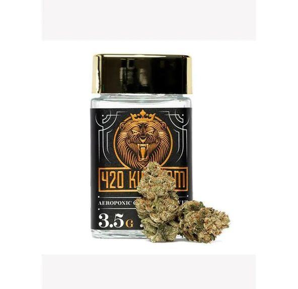 B. 420 Kingdom 3.5g Flower - Quality 9/10 - King Louis OG (~33%)