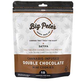 [Big Petes Treats] Cookies - 100mg - Double Chocolate (S)