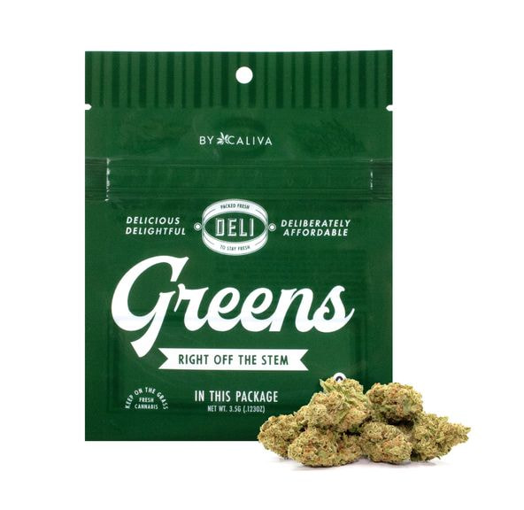 [Deli Greens] Ghost Berry (Eighth   3.5g)