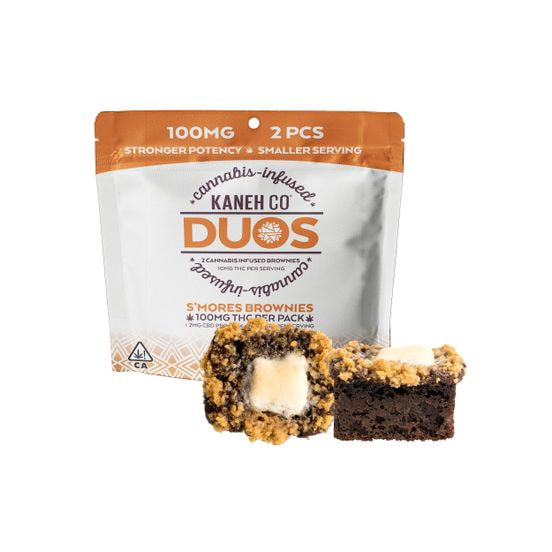 Kaneh - DUO Brownie - S'mores 100mg