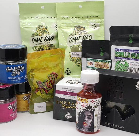*Deal! $100 for (4) 1/8 Mix n' Match ($45 - $50 Strains Only) + Syrup