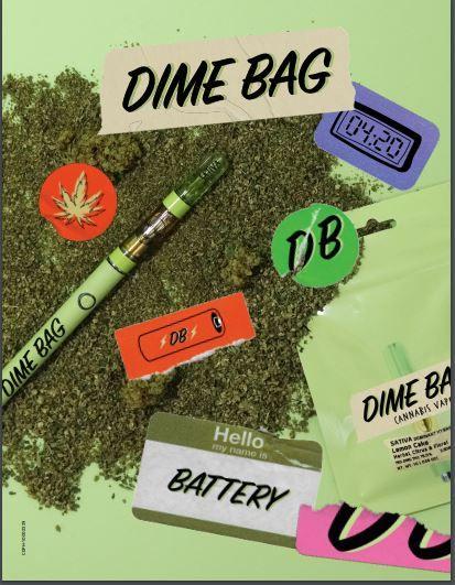 (PRE-ORDER ONLY) Dime Bag 510 Battery- Dime Bag