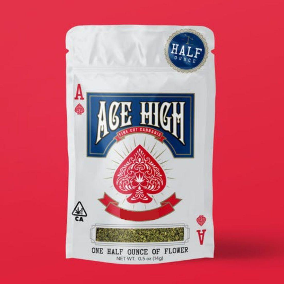 A. Ace High 14g Shake Flower - Sundae Driver (~17%)