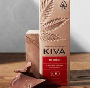 Kiva Bar - Milk Chocolate 100mg