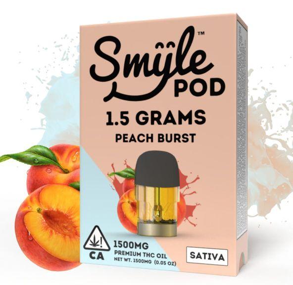 SMYLE POD - PEACH BURST 1.5 GRAM POD