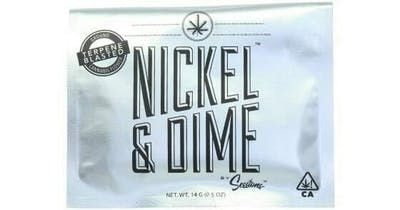 Cherry Creamsicle - Roll Your Own 14g (THC 19%) by Nickel & Dime