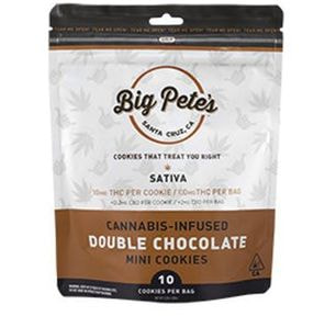[Big Petes Treats] Cookie - 100mg - Double Chocolate Chip (S)