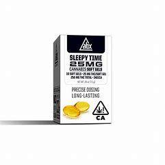 ABX Refresh Sleepy Time Soft Gels 25mg THC (10 capsules)