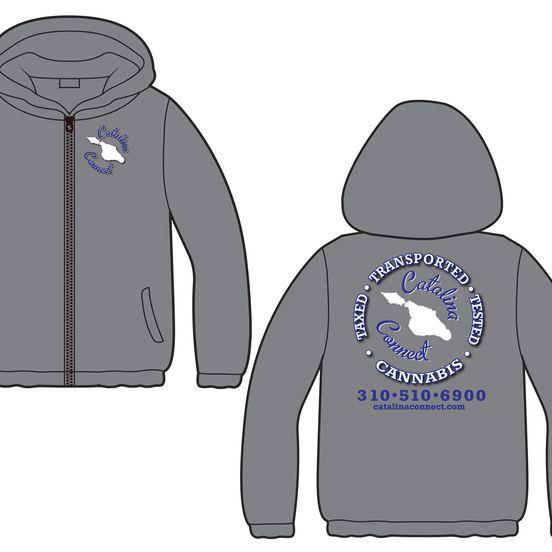 Catalina Connect: Windbreaker - Grey, XL