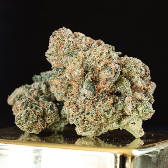 B. 420 Kingdom 14g Flower - Quality 9/10 - Biscotti (~29%)