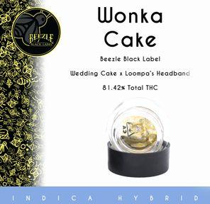BEEZLE BLACK LABEL - 1G SAUCE - WONKA CAKE