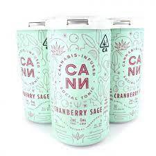 [CANN] CBD Drink 4 Pack - 2:1 - Cranberry Sage