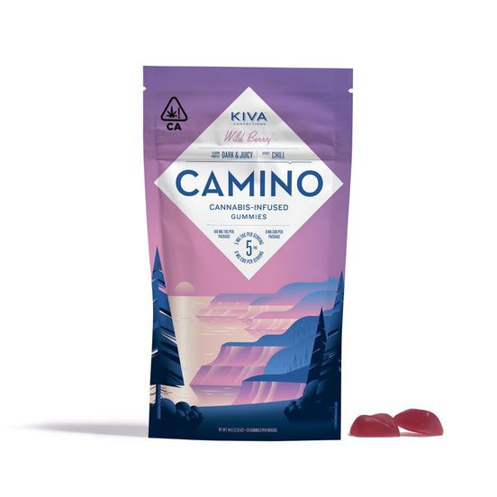 Camino Gummies 100mg Wild Berry