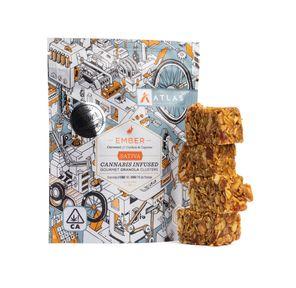 [Atlas] Granola Clusters - 80mg - Caramel Cashew & Cayenne