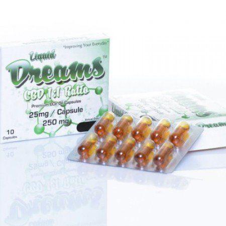 Liquid Dreams CBD 1:1 25mg - 10 Pk