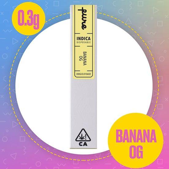 0.3g - Pure Disposable, Ind, Banana OG
