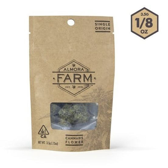 Almora Farms Cookies & Cream 3.5g 25.61%