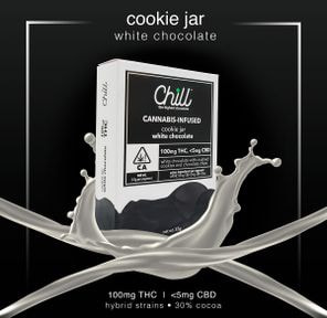 Cookie Jar, Chocolate, 100mg- Chill