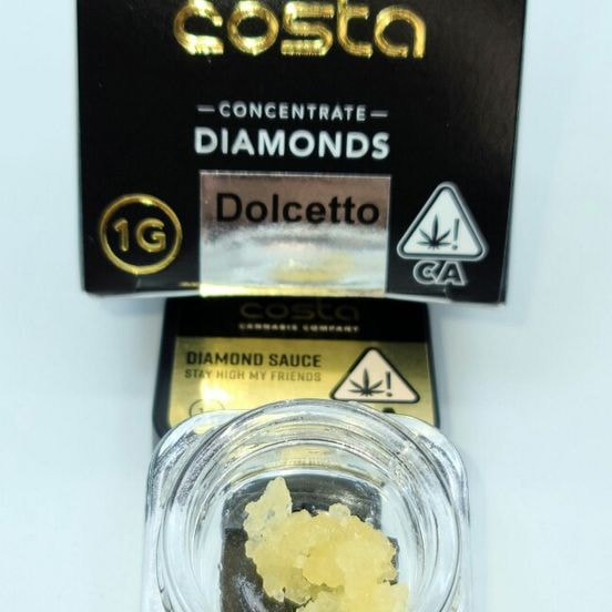 Dolcetto - 1g Diamonds (THC 87.63%) by Costa Labs