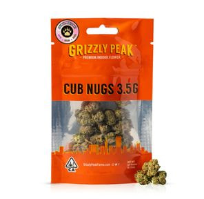 B. Cub Nugs 3.5g Small Flower - 8/10 - London Kush Mintz (~32% THC)