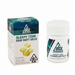 ABX Refresh Sleepy Time Soft Gels 5mg THC (10 capsules)