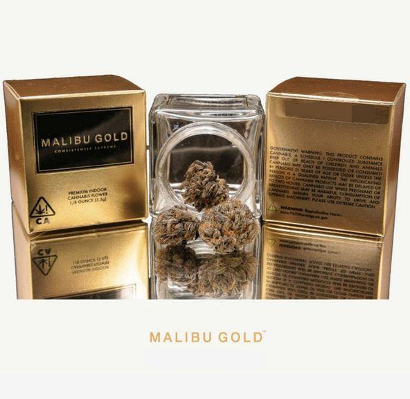 1. Malibu Gold 3.5g Flower - 9/10 - Mendo Breath (~25% THC) **SALE**