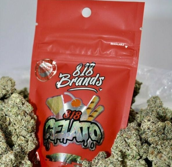 B. 818 Brands 4g Flower - 9.5/10 - Fritter (~24% THC)