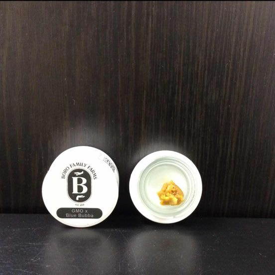 Boro Live Badder - GMO x Blue Bubba