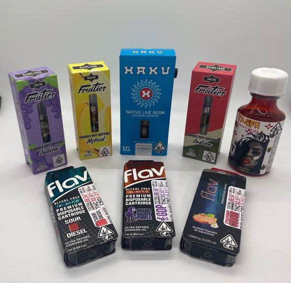 *Deal! $99 Mix n' Match (3) with Potters, Dani Fire, Haku, Sublime & Flav 1g Cartridges + Syrup