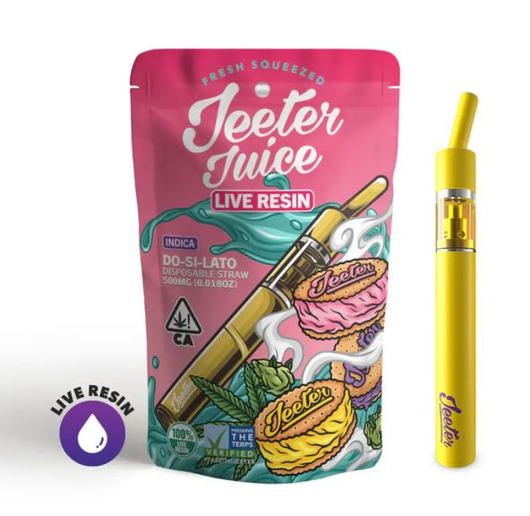 .5g Dosilato Live Resin Disposable Straw - JEETER