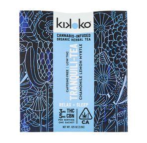 Kikoko- Tranquili-Tea 5mg CBN/3mg THC
