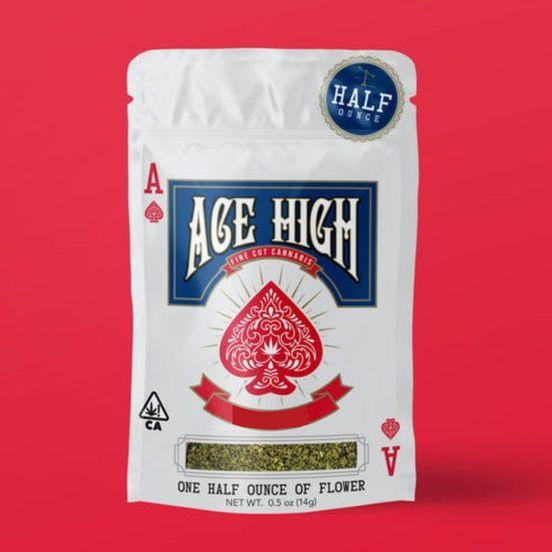 A. Ace High 14g Shake Flower - Santa Barbara (~18%)