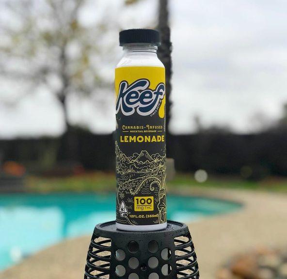 Keef Life Lemonade 100mg THC
