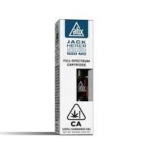 ABX Jack Herer Cartridge .5g 66.00% THC