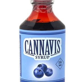BLUEBERRY, Tincture, 600mg - Cannavis Syrup