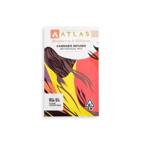 [Atlas] CBD/THC Beverage Mix - 2:1 - Raspberry Hibiscus