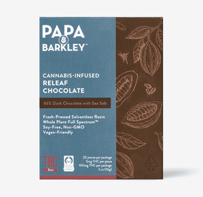 PAPA & BARKLEY - THC RICH DARK CHOCOLATE SEA SALT
