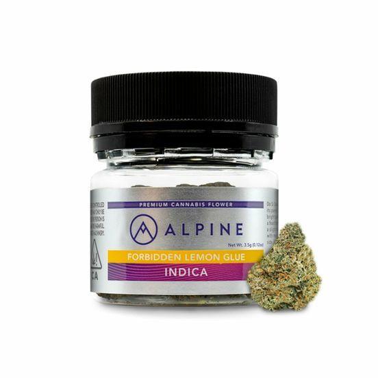 B. Alpine 3.5g Flower - 9/10 - Hot Rod (~28% THC)