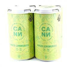 [CANN] CBD Drink 4 Pack - 2:1 - Ginger Lemongrass (PROMO)