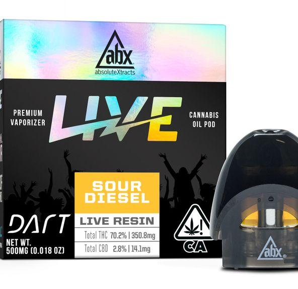 ABX Dart Sour Diesel .5g