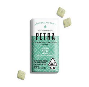 100mg Moroccan Mint PETRA Mints - KIVA